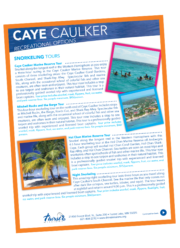 Caye Caulker recreation options